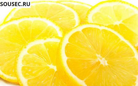 порезанные лимоны