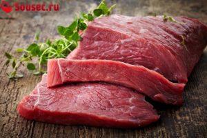 Говяжье мясо фото