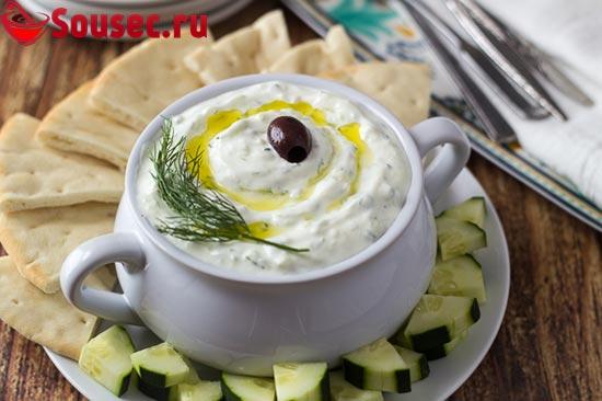 Соус Цацики с маслиной