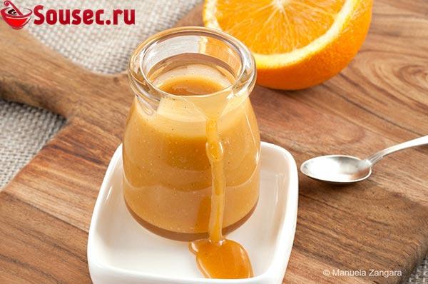 Карамельный соус с медом