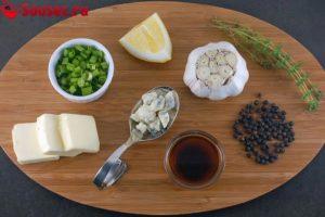 Ингредиенты для соуса блю чиз