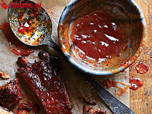 Острый барбекю соус