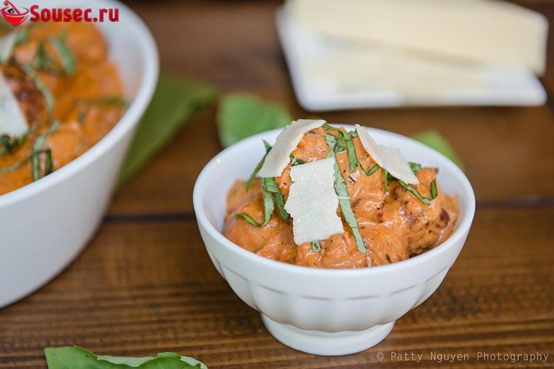 Сливочный Соус для тефтелей с сыром и яйцом