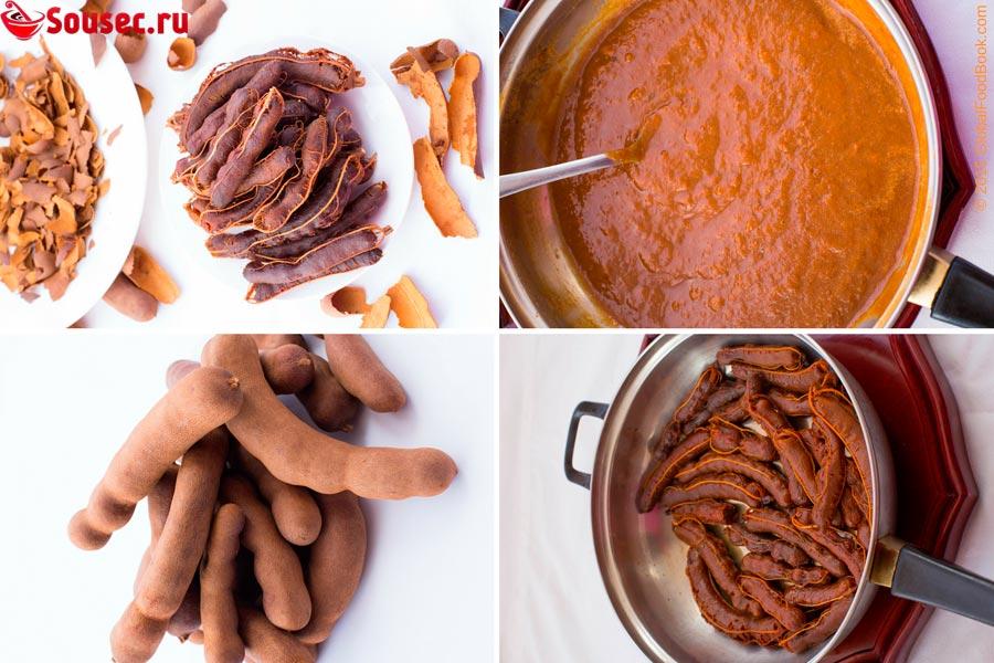 Тамаринд для приготовления соуса