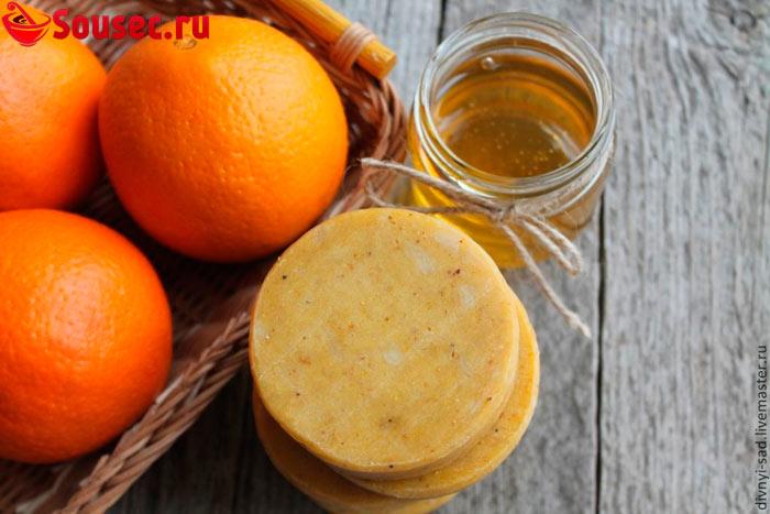 Мед с апельсинами