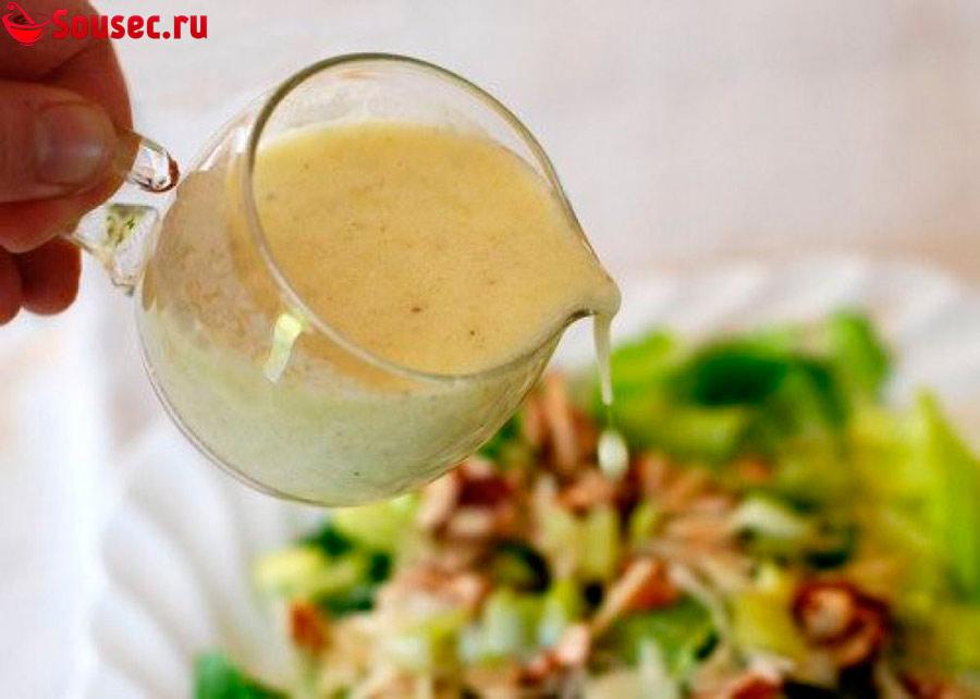 Соус для салата с креветками