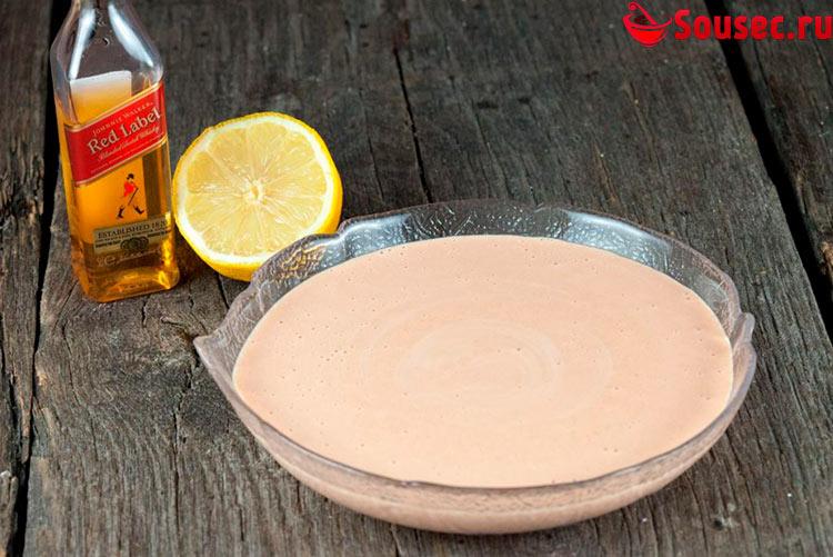 Коктейльный соус с виски