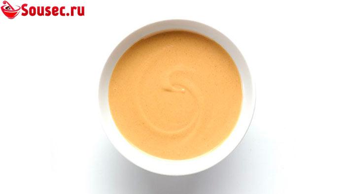 Быстрый соус из арахисовой пасты