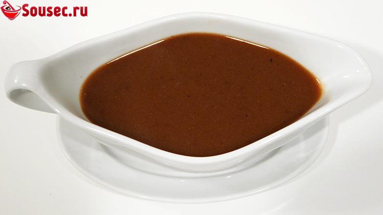 Французский коричневый соус