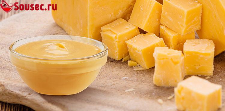 Молочный соус с сыром
