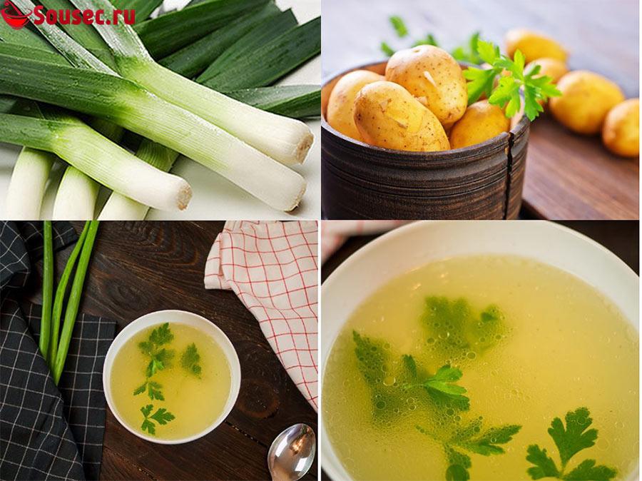 Состав супа Вишисуаз