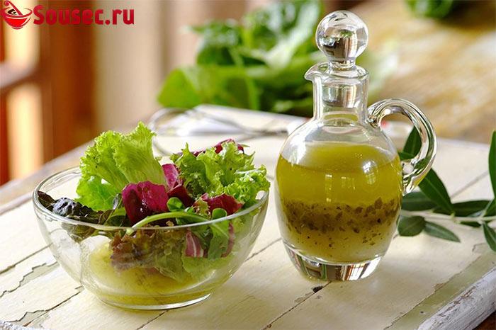 Итальянская заправка для овощного салата