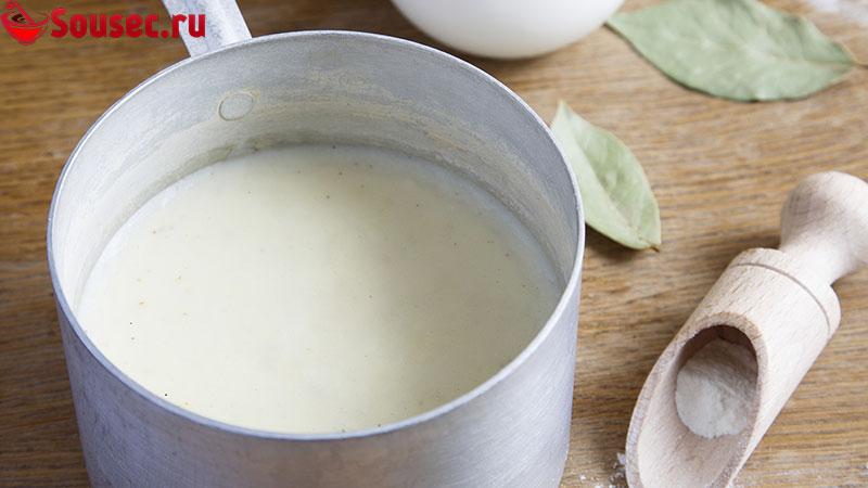 Чем заменить молоко в соусе бешамель