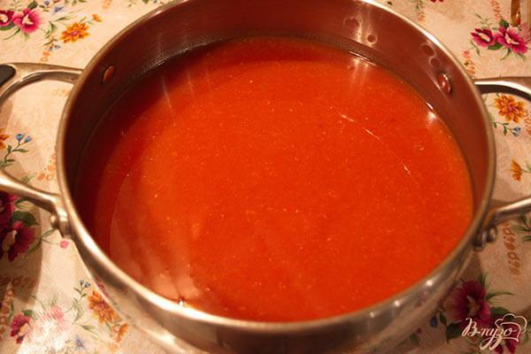 Томатный сок для краснодарского соуса