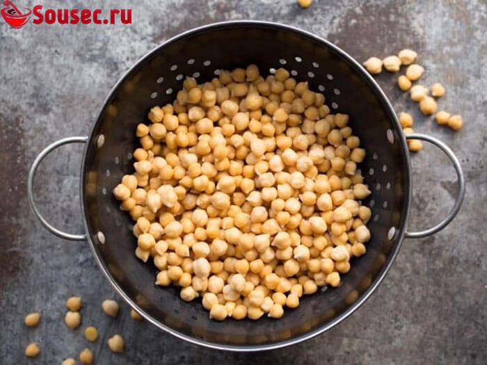 Нут - основной ингредиент Хумуса