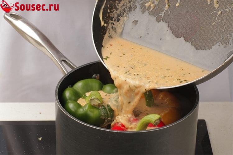 Соус для фаршированных перцев