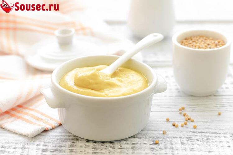 Горчичный соус для картофеля