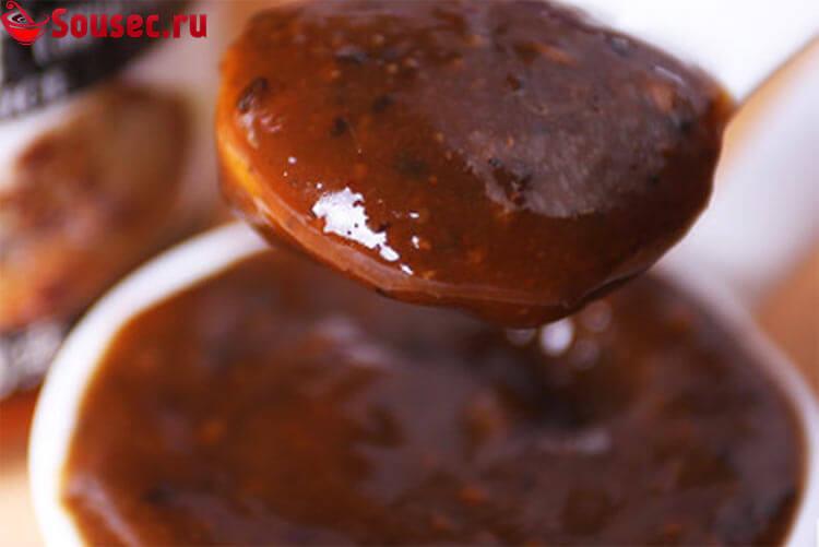 Соус из черного перца с коньяком