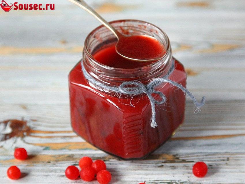 Соус из ягод калины