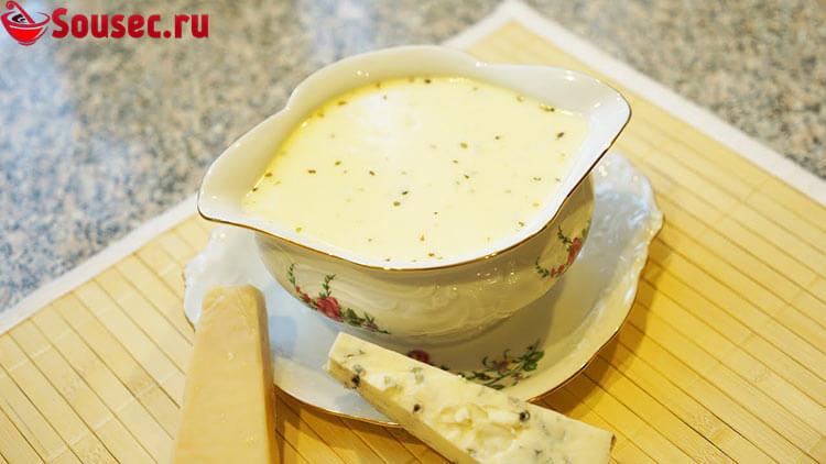 Соус с сырной основой к картошке