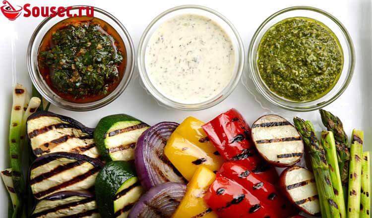 Соусы для овощей
