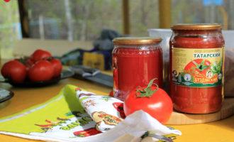 Буздякский томатный соус
