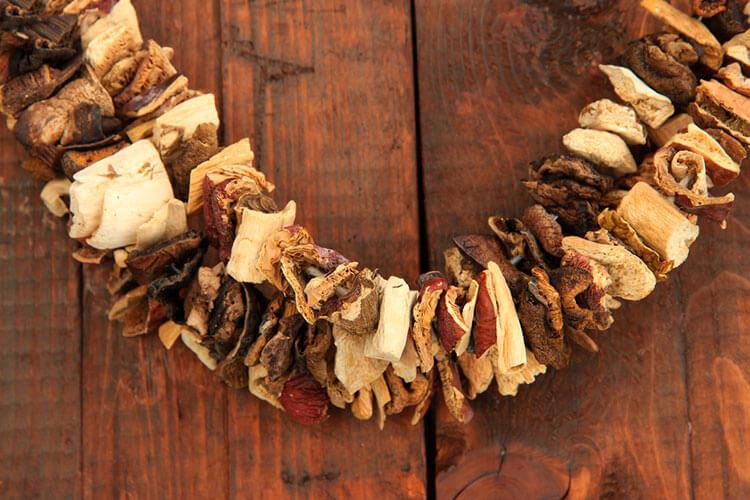 Сушеные грибы для соуса