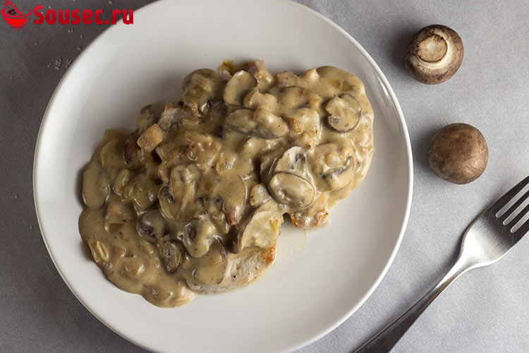 Классический Охотничий соус с грибами