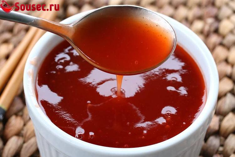 Красный Китайский кисло-сладкий соус