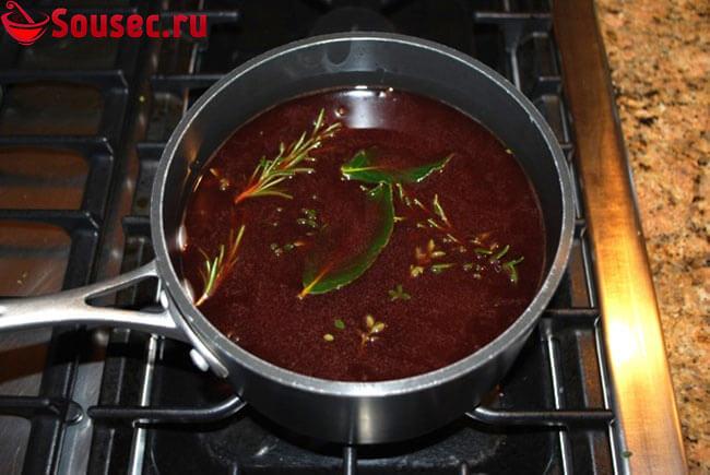 Приготовление соуса Мадера