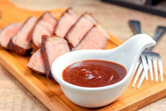 Бальзамический соус с говядиной