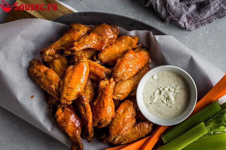Курица с диетической заправкой
