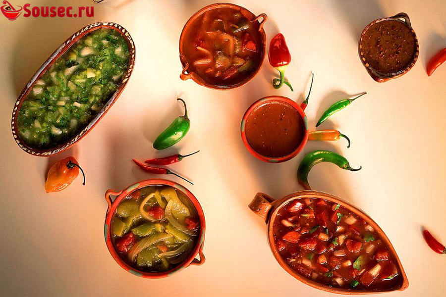 Мексиканские соусы
