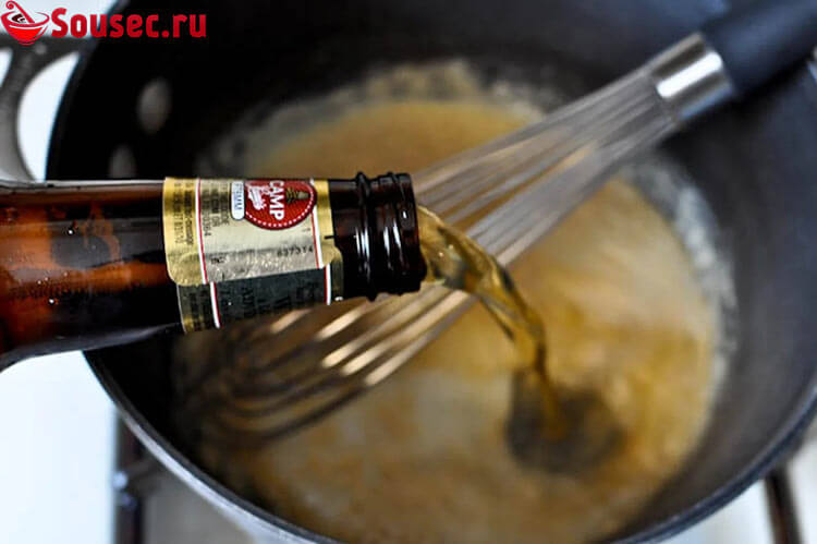 Пивной соус для шашлыка