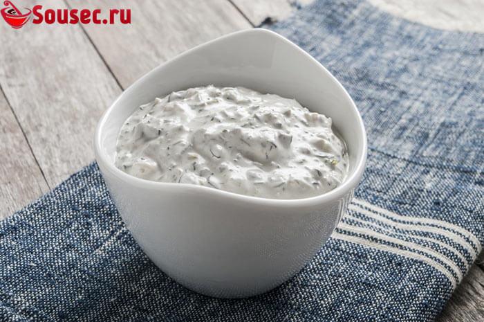 Сырный соус на кефире