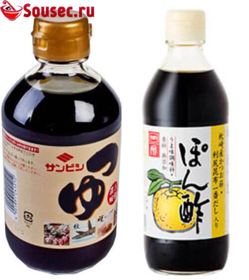 Японские соусы бренда Мицукан