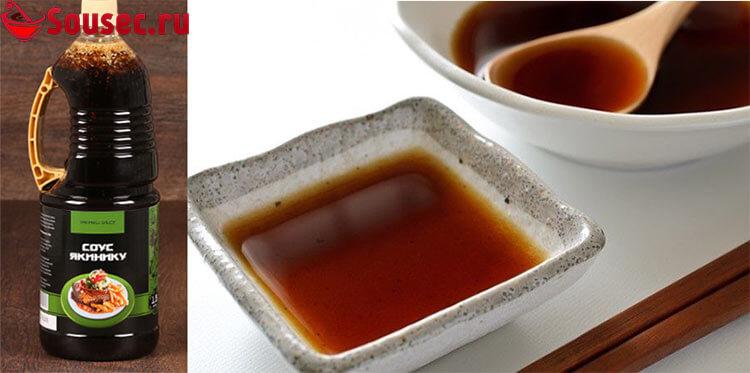 Домашний соус Якинику