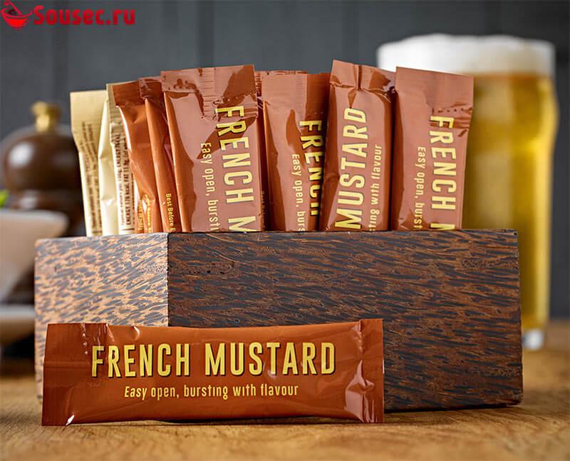 Французская горчица в пакетиках