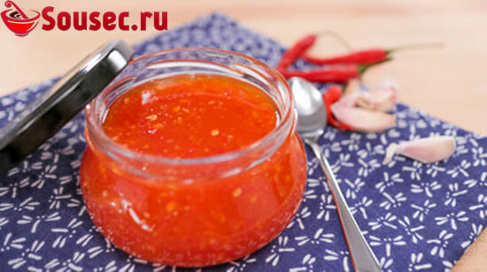 Кисло-сладкий соус с тайским перцем Чили