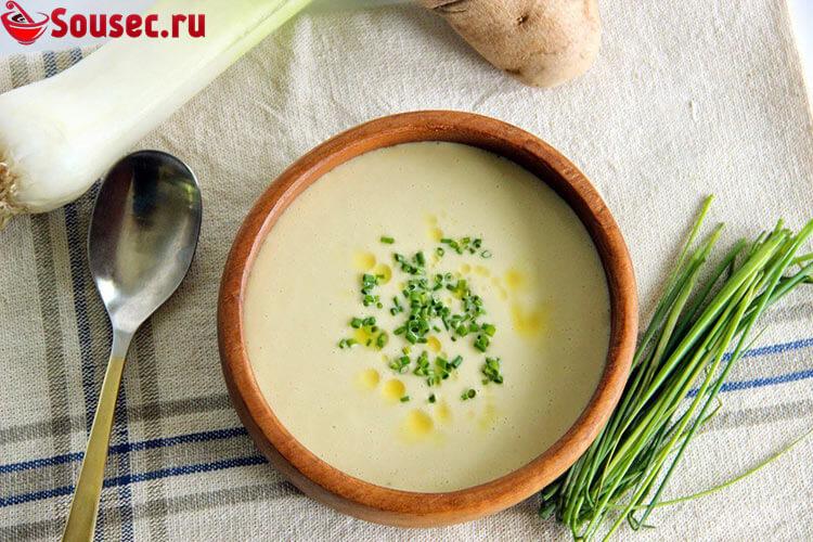 Луковый суп-пюре Light