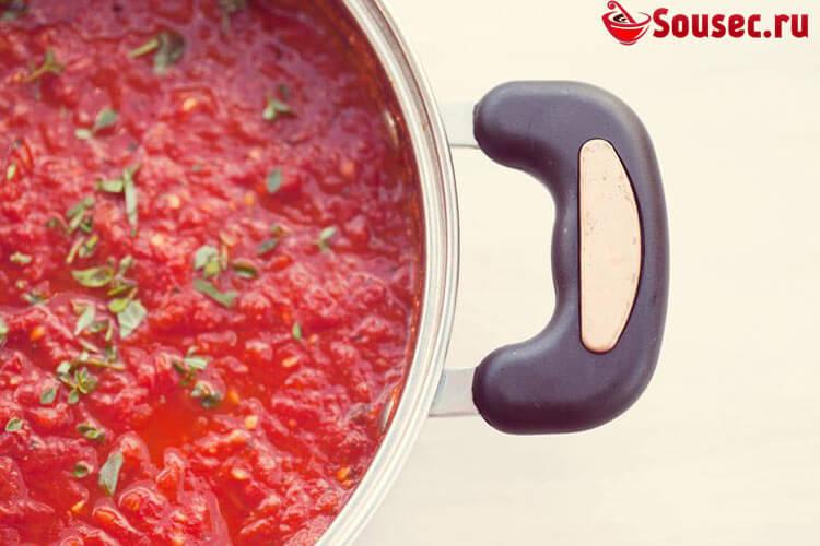 Шашлычный соус из томатной пасты
