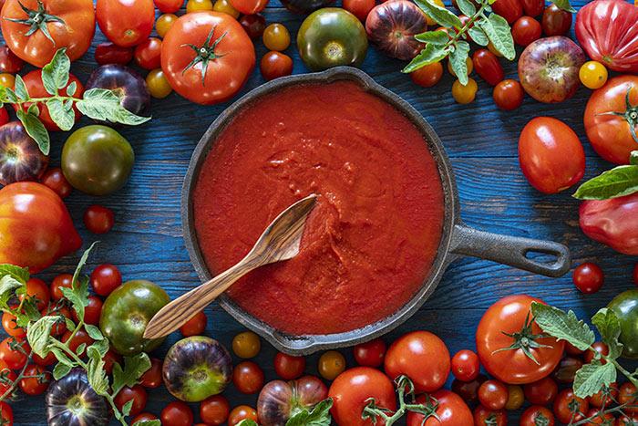 Кетчуп на зиму из помидоров