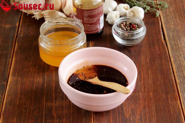 Медово-соевый соус