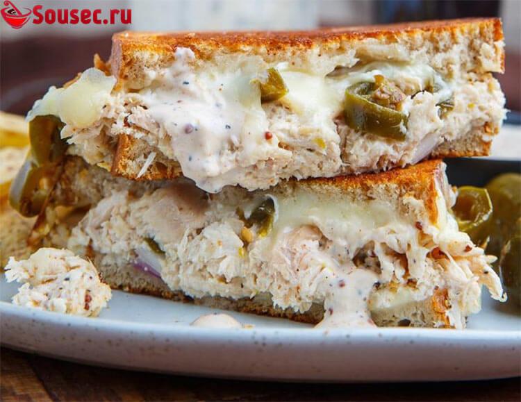 Сэндвичи с острым соусом