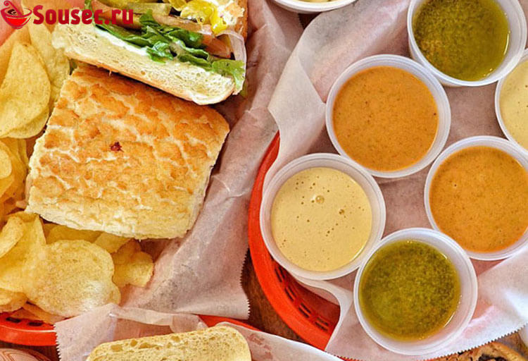 Соусы для сэндвичей