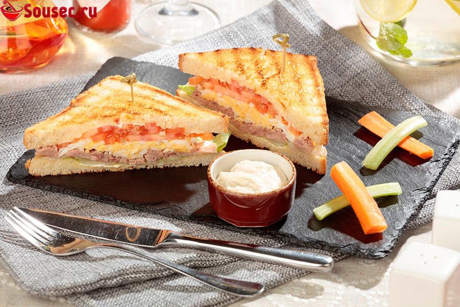 Средиземноморский соус для сэндвича с тунцом