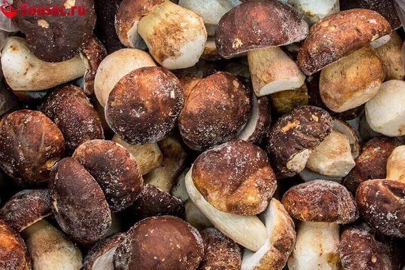 Замороженные грибы для соусов