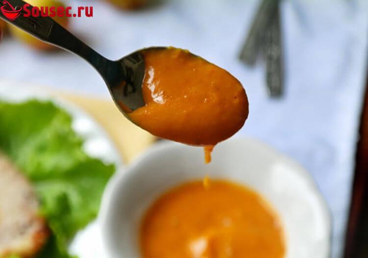 Абрикосовый соус по восточному